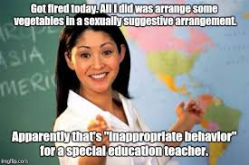 Sexually Inappropriate Memes - unhelpful high school teacher meme imgflip