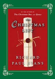 the christmas box the christmas list richard paul