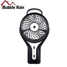 quiet fans for home bubble rain a58 portable mini fan rechargeable usb fans mini air