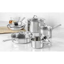 calphalon signature nonstick 8 piece cookware set walmart com