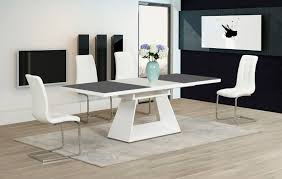 Extending Glass Dining Table And 8 Chairs Grey Dining Table And Chairs Grey Pine Dining Table And Four