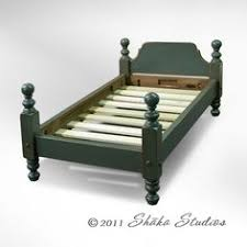 high end paul bunyan type 4 poster queen size cannonball bed