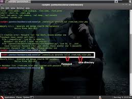 make a backdoor using weevely backtrack 5 r2 computer
