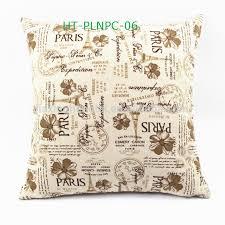 Wholesale Decorative Pillows Christmas Cushions Large Sofa Cushion Custom Linen Print Wholesale