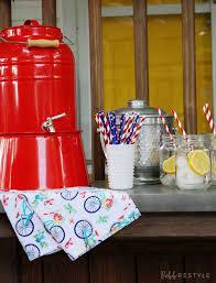 vintage america party decor robb restyle