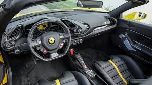 ferrari steering wheel ferrari 488 spider 2016 review by car magazine