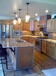 metal island kitchen kitchen island with rustic 1 1 4 corrugated metal corrugated