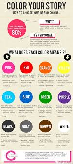 good mood colors color your story best infographics education pinterest