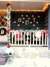 front porch christmas decorating ideas country makeovers for
