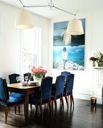 Navy Blue Dining Room Blue Upholstered Dining Chairs Blue Upholstered Dining Room Chairs