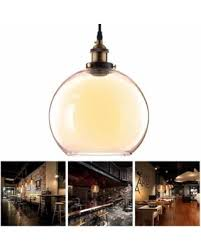 Yellow Glass Ceiling Light Spectacular Deal On Yescom Vintage Industrial 9 8