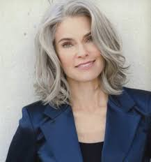 highlights for white hair on older women 60 elegant gray hair styles ideas beautiful nature
