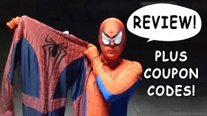 halloween costumes com coupon codes spider man reviews