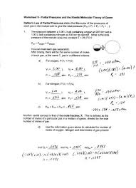 kinetic theory worksheet free worksheets library download and