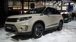 the all new suzuki vitara makes first appearance at paris 2014