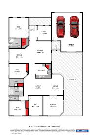 Belvedere Floor Plan 40 Belvedere Terrace Ocean Grove Vic 3226 For Sale