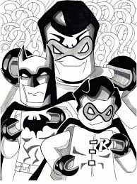 lego batman robin coloring chillins lego