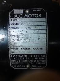 aei motor wiring for rescued lathe model engineer