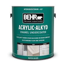 best alkyd paint for cabinets interior and exterior acrylic alkyd enamel undercoater behr
