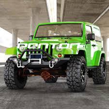 jeep yj rock crawler rock crawler front bumper w led lights winch plate 87 06 jeep
