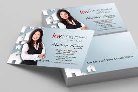 keller williams realty business card templates online free ship