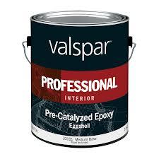 shop valspar pre catalyzed epoxy medium base eggshell latex