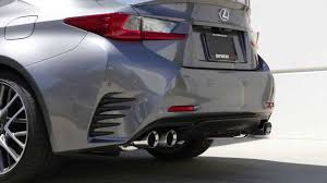 lexus rc 350 tanabe medalion touring exhaust for 2015 lexus rc 350 f sport