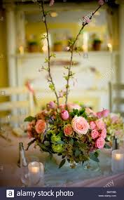 Spring Table Settings Table Setting Flower Arrangement Center Piece Pink Spring