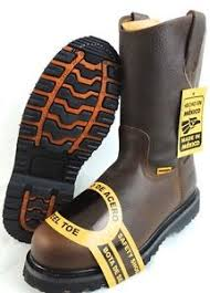s boots s steel toe work boots pull on safety genuine leather