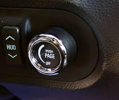 camaro hud camaro heads up display knob ca0007sc 2011 2015 camaro