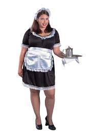 Maid Halloween Costumes Women U0027s Size French Maid Costume Size Halloween
