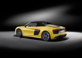 audi supercar convertible 2017 audi r8 loses its top in new york dubai abu dhabi uae