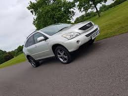 used lexus suv for sale in uk used lexus rx 400h suv 3 3 se l cvt 5dr in fareham hampshire