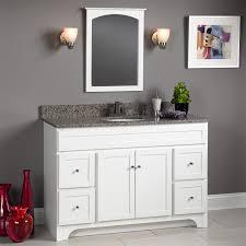 Foremost Bathroom Vanities Foremost Wrwa4821d Worthington 48 White Bathroom Vanity
