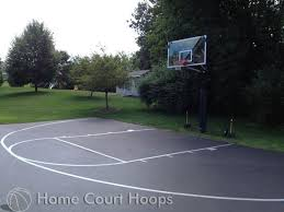 basketball courts with lights near me driveway basketball court line painting service home court hoops