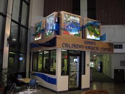 Fish Tank Reception Desk Shands Children U0027s Surgical Center Renovation Donnelly Architecture