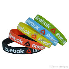 bracelet silicone images New crossfit silicone 5 colours debossed wristband bracelet jpg