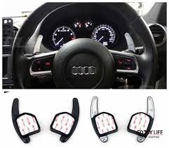 audi a4 paddle shifters get cheap steering wheel shift paddle set aliexpress com