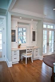 kitchen desk ideas kitchen desk i like how it s enclosed and off by itself not in