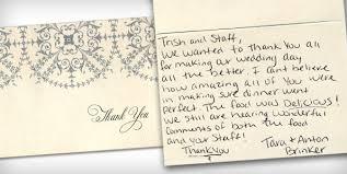 wedding thank you cards donatelli s