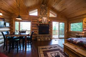 interior of log homes finding the cadence of life at western pleasure guest ranch visit