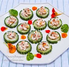 and easy canapes fancy schmancy cool as a cucumber canapés tips on turning dishes