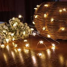 copper wire lights battery 3 5m 30 50led waterproof stars copper wire fairy string lights