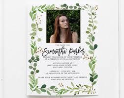 funeral invitation template celebration of invitation memorial service or funeral