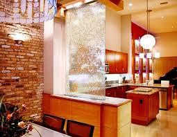 waterfalls decoration home indoor glass waterfall design element decoration home kitchen