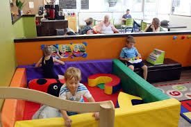cafe would overlooks play area much like this ideally my