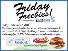 free promo codes and coupons 2017 hardees coupons