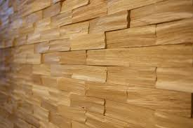 wooden wall cladding interior textured decorative oak
