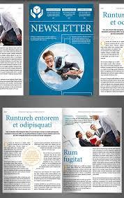 newsletter vol 6 u2013 indesign template newsletter design