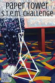 Challenge Science Paper Towers Science Project And S T E M Challenge Feels